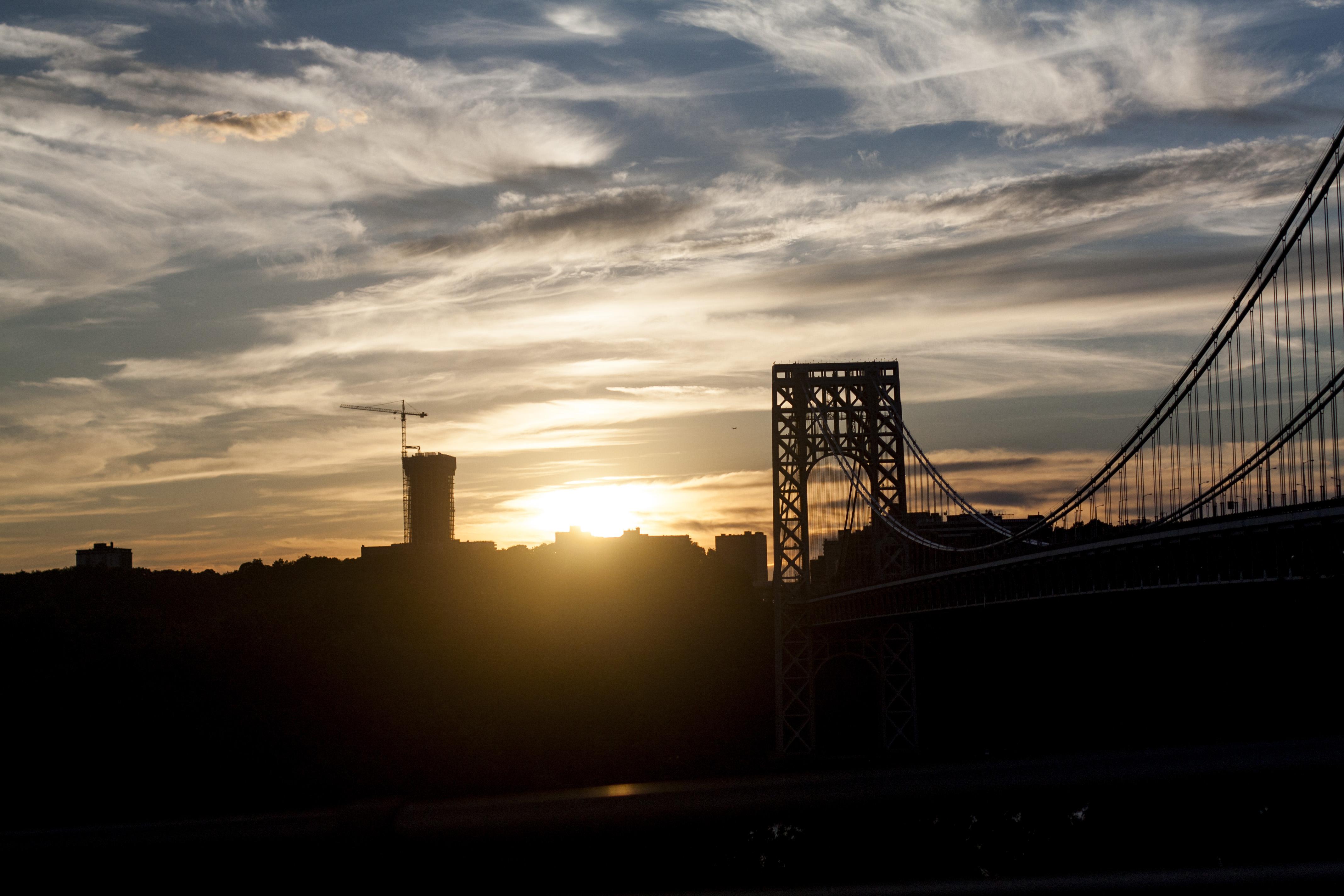 sunset_nyc_george_washington_bridge