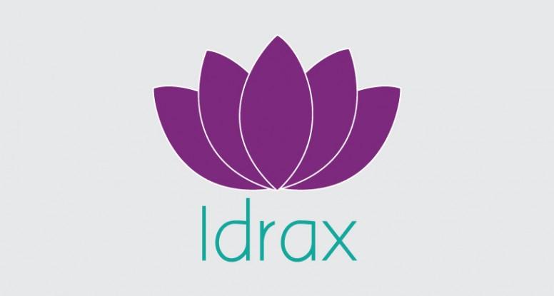idrax body lotion logo design