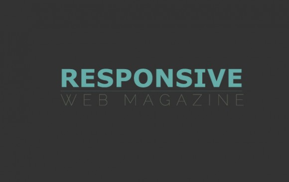 responsive web magazine